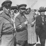 О.И.Городовиков на Джангариаде. 1940 г.
