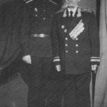 О.И.Городовиков с сыном Салаватом. 1957 г.