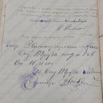Договор между Калмоблархивбюро и А.А.Лебединским