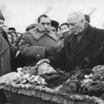 Похороны О.И.Городовикова. 1961 г.